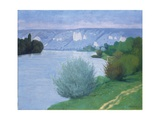 The Seine Near Les Andelys, 1916 Giclee Print by Félix Vallotton