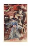 Negro Girl Dancer, 1916 Giclee-trykk av Charles Demuth