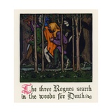Chaucer: The Pardoner's Tale Giclee Print by Walter Appleton Clark