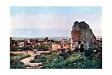 The Ruins of Clermont-En-Argonne, West of Verdun, September 1916 Giclee Print by Jules Gervais-Courtellemont
