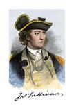 John Sullivan, with His Signature Photographic Print