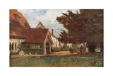 Stoke Poges Churchyard Giclee Print by Francis S. Walker