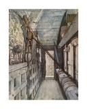 Portcullis in the Bloody Tower Giclee Print by John Fulleylove