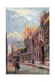Merton College Tower, Corpus Christi Gateway Giclee Print by William Matthison
