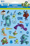 Pixar Monsters University Foldover Stickers Stickers