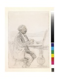 Portrait Study of Sir David Murray, c.1919 Giclee Print by Thomas Raffles Davison