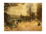 Les Jardins des Luxembourg, Paris, 1904 Giclee Print by Fernand Auguste Besnier