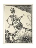The Path of Glory, Illustration from the Kaiser's Garland by Edmund J. Sullivan, Pub. 1916 Giclee Print by Edmund Joseph Sullivan