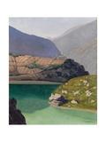 Lake Geronde, Sierre, 1919 Giclee Print by Felix Edouard Vallotton