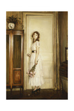At the Doorway, 1932 Giclee Print by Jules Alexis Muenier