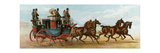 Coach and Four Horses of Mr Oakeley, London, 1880s Giclee Print