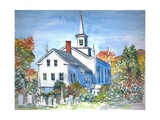 Church, Vermont, 2004 Giclee Print by Anthony Butera