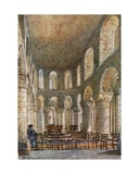 St John's Chapel in the White Tower Giclee Print by John Fulleylove