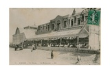 Calais, Le Casino, Le Restaurant. Postcard Sent on 14 August 1913 Giclee Print by  French Photographer