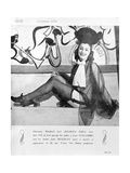 Maureen O'Dea, One of Vivian Van Damme's 'Windmill Girls', 1948 Giclee Print by  English Photographer