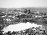 Battlefield Near Passchendaele, Flanders, October 1917 Reprodukcja zdjęcia autor English Photographer