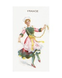 France, Cigarette Card, 1915 Giclee Print by  English School