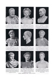 Roman Emperors Who Visited Britain, Illustration from 'Hutchinson's History of the Nations', c.1910 Giclee Print by  English School