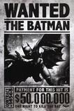 Batman Arkham Origins - Wanted Plakater