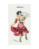 Brazil, 1915 Giclee Print by  English School