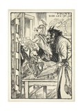 A Deal with the Devil ('By Private Treaty: The Whole of That Desirable Property known as the… Giclee Print by Edmund Joseph Sullivan