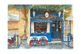 Osteria Margutta, Rome, Italy, 2013 Giclee Print by Anthony Butera