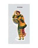 China, 1915 Giclee Print by  English School