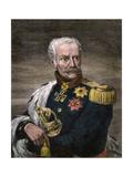 Field Marshal Gebhard Leberecht Von Blucher, Prussian Commander at Waterloo Giclee Print