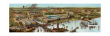 Panoramic View of the Columbian Exposition in Chicago, 1892 Giclee Print