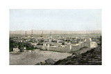 Islamic Holy City of Medina in Arabia, 1800s Photographic Print