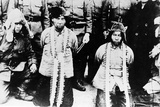 Captured Chinese Soldiers in Manchuria, 1931 Photographic Print by  Japanese Photographer