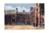Exeter College, Quad Giclee Print by William Matthison