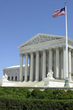 US Supreme Court Building, Washington DC Photographic Print