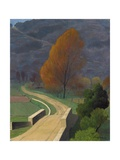 Bridge over the Beal, 1922 Giclee Print by Felix Edouard Vallotton