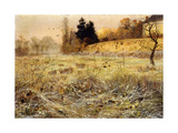 The Hoar Frost, c.1900 Giclée-tryk af Fritz Thaulow