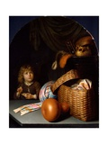 Still Life With a Boy Blowing Soap-bubbles Giclee Print by Gerard Dou
