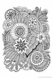 Black and White Floral Design III Prints by Sara Gayoso