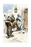 Wandering Muslim Dervishes, North Africa, 1800s Photographic Print