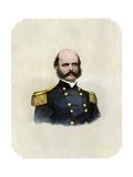 Union General Ambrose Burnside Impression giclée