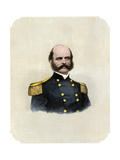 Union General Ambrose Burnside Giclee Print