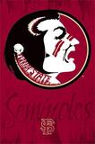 Florida State University Seminoles Logo Posters