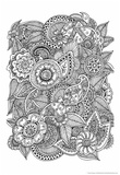 Black and White Floral Design I Poster by Sara Gayoso