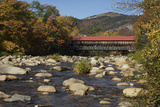 Covered Bridge Over the Swift River in Albany, New Hampshire Photographic Print
