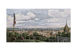 Boston Viewed From Cotton or Pemberton Hill, 1816 Photographic Print