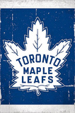 Toronto Maple Leafs Retro Logo Prints