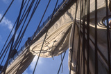 USS Constitution's Mainsail Detail, Boston Photographic Print