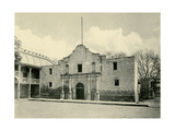 The Alamo in San Antonio TX, Circa 1890 Giclee Print
