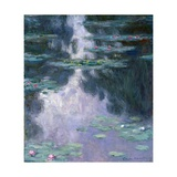 Water Lilies (Nympheas) Giclee Print by Claude Monet