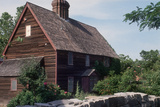 Home Built in the 1660s, Restored, in Salem, Massachusetts Photographic Print