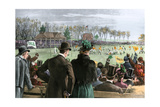 Princeton-Yale Football Match, 1889 Photographic Print
